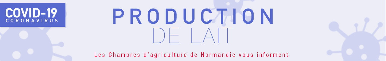 INFO Coronavirus et production de lait